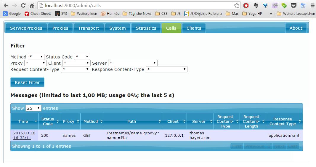 Open Source API Gateway 4 REST & SOAP - Membrane Service Proxy